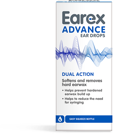 Earex Advance Dual Action Ear Drops;